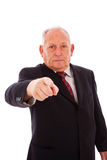 Senior businessman Stock Images