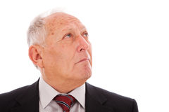 Senior businessman Stock Image