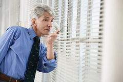 Senior businessman Stock Photography