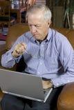 Senior businessman Royalty Free Stock Photos