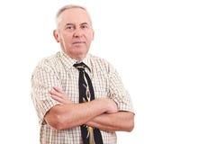 Senior businessman Stock Photography
