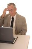 Senior Businessman 35 Stock Photo