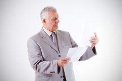 Senior Businessman Royalty Free Stock Photography