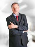 Senior businessman portrait Stock Image