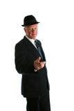 Senior businessman portrait Stock Photography