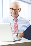 Senior businessman Royalty Free Stock Photos