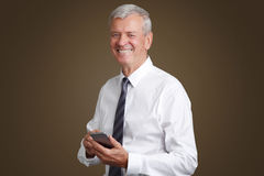 Senior businessman portrait Royalty Free Stock Photography