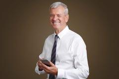 Senior businessman portrait Royalty Free Stock Photography