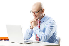 Senior businessman Stock Image