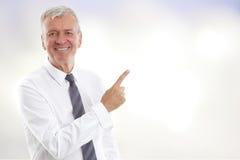 Senior businessman portrait Royalty Free Stock Photo