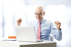Senior businessman Stock Photos