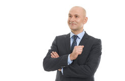 Senior businessman portrait Royalty Free Stock Images