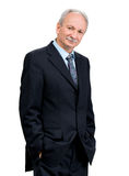 Senior businessman Stock Photo