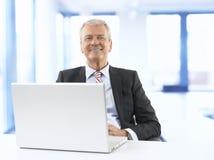 Senior Businessman Royalty Free Stock Photography