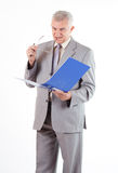 Senior Businessman Royalty Free Stock Images