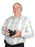 Senior businessman smiling Royalty Free Stock Photos