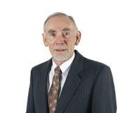 Senior businessman in suit Royalty Free Stock Photos