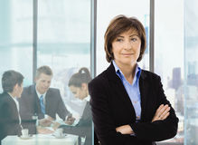 Senior businesswoman Royalty Free Stock Photos
