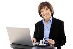 Senior businesswoman Stock Images