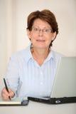 Senior businesswoman Royalty Free Stock Images
