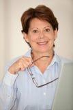 Senior businesswoman Stock Image