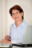 Senior businesswoman Stock Photography