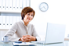 Senior Businesswoman Royalty Free Stock Photo