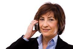 Senior businesswoman Royalty Free Stock Photo