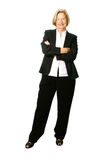 Senior businesswoman,full. Stock Photography