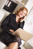 Senior businesswoman Stock Photos