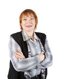 Senior businesswoman  portrait Stock Photo