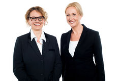 Senior businesswomen standing Royalty Free Stock Photography