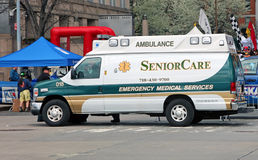 Senior Care Ambulance Royalty Free Stock Photography