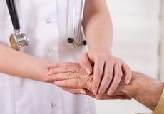 Senior care concept Stock Image