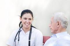 Senior care concept Royalty Free Stock Photos