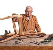 Senior carpenter Royalty Free Stock Photography