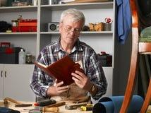 Senior carpenter Stock Photos