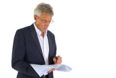 Senior CEO Royalty Free Stock Photography