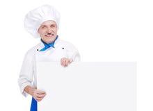 Senior chef Stock Image