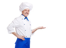 Senior chef Stock Photos