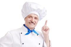 Senior chef Royalty Free Stock Photo