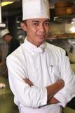 Senior chef royalty free stock photos