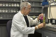 Senior Chemist Stock Image