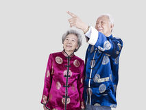 Senior chinese couple Stock Images