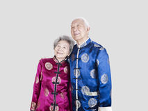 Senior chinese couple Stock Photo