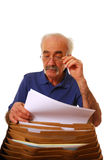 Senior citizen finance Royalty Free Stock Photos