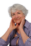Senior Citizen Lady Stock Images