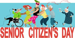 Free Senior Citizen`s Day Stock Photography - 144526912