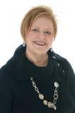 Senior citizen woman smiling. Stock Photos