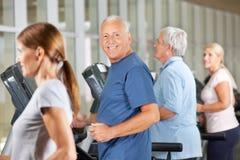 Senior citizens jogging on Stock Images